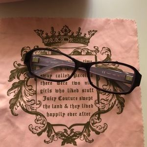 Juicy Couture Accessories - Purple Juicy Couture Eyeglasses